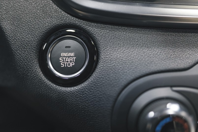 Autoschlüssel mit Keyless Go Funktion